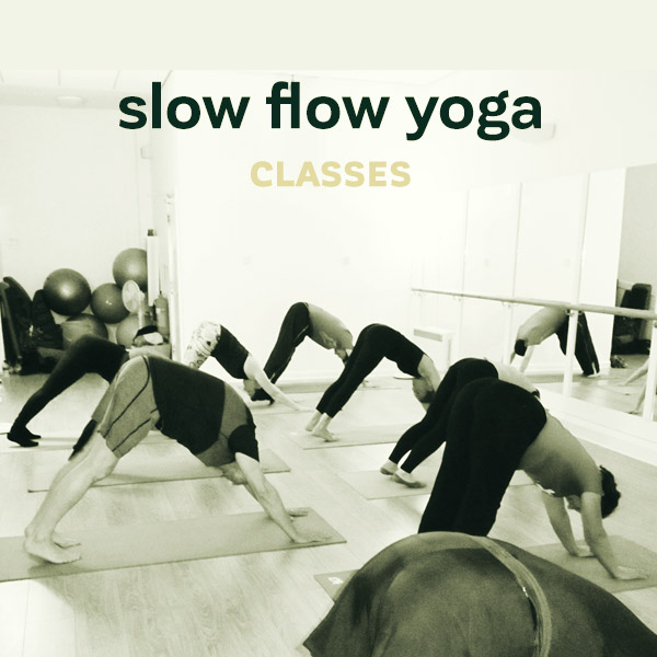 Slow Flow Yoga Class Banner